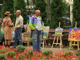 """Всеукраинский художественный пленэр """"Нарисованный Ирпень"""""""