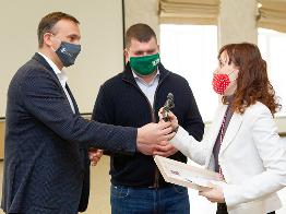 """Товариство """"Відважних"""" вручило нагороди лавреатам Літературної премії Ірпеня"""