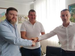 ООО «Отважных», «Планета Пластик» и горсовет подписали меморандум о совместном развитии велоспорту в Ирпенский общине
