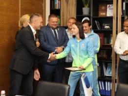 СЕО общества «Отважных» Владимир Спивак принял участие в награждении олимпийцев - фоторепортаж